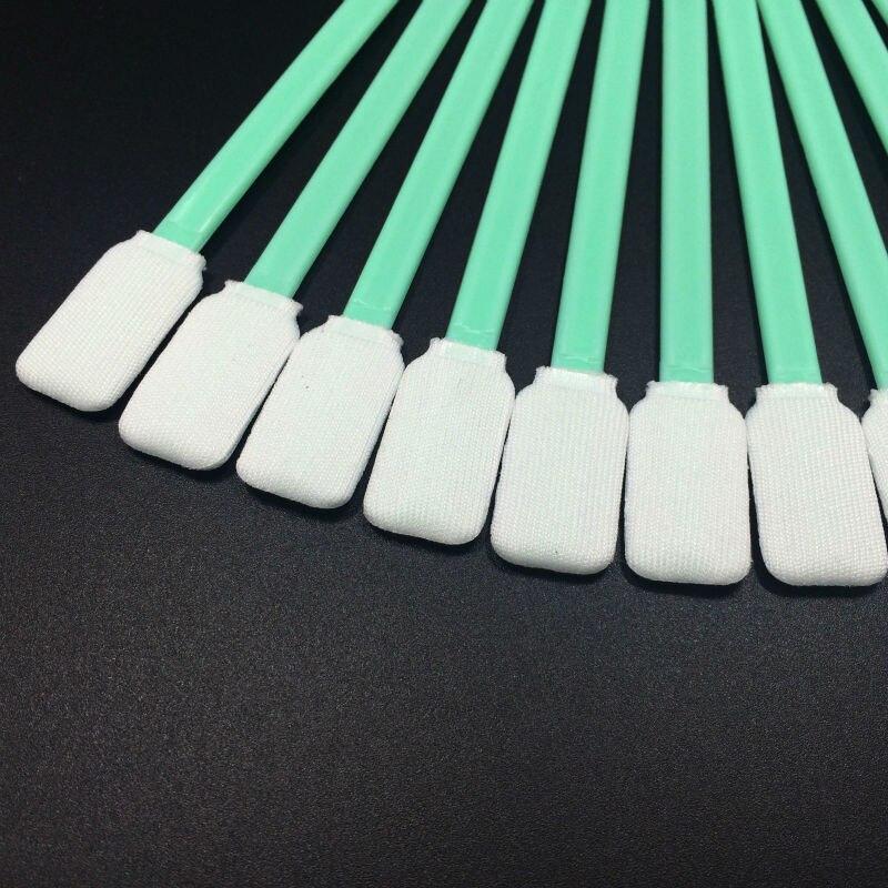 (50 Stuks) Printkop Printkop Cleaning Foam Sticks Tool Schoon Wattenstaafjes Voor Epson Mutoh Roland Mimaki Grootformaat Printer Solvent Inkt Koel In De Zomer En Warm In De Winter