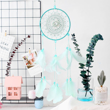 MEMOSTO Green dream catcher new hollow flower decorative interior pendant creative gifts
