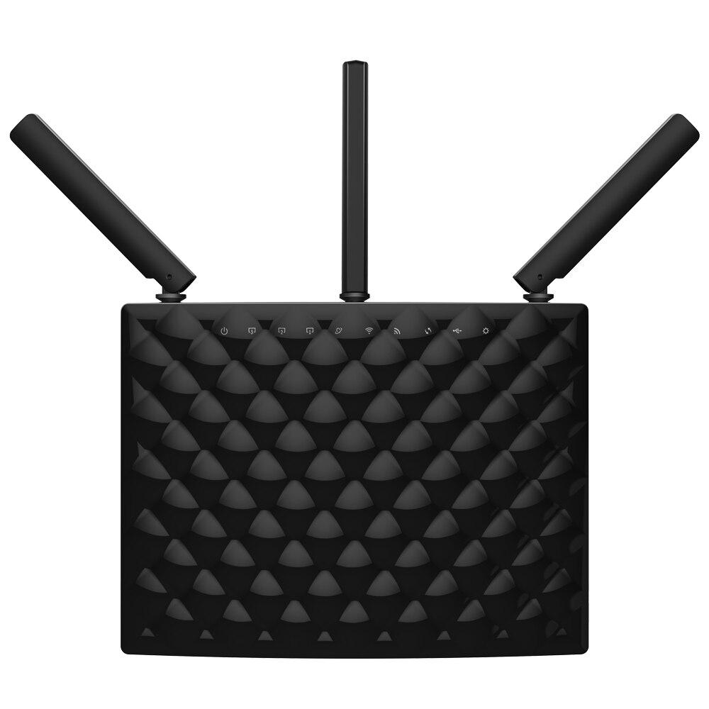 Prix pour Tenda ac15 double bande wifi routeur 1900 mbps 2.4 ghz/5 ghz 1300 mbps + 600 mbps avec usb3.0 wi-fi 802.11ac télécommande app anglais