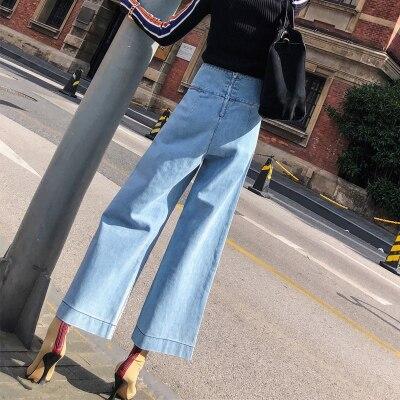 ardoisé Pantalon Printemps Ciel bleu Automne noir Femmes Et Jean or Baggy Droit pu marron Jeans gris Omh Beige qISpwI