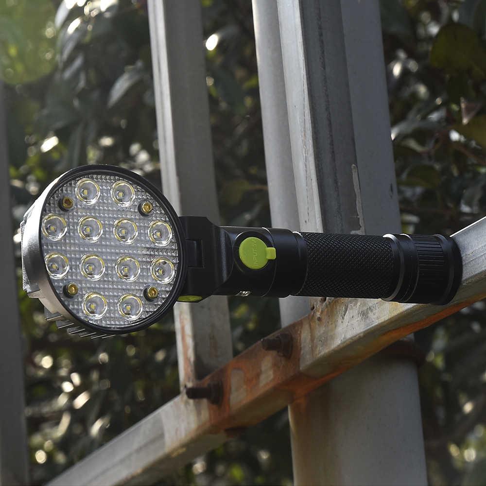 Tomshine USB светодио дный перезаряжаемый светодиодный фонарик для ремонта автомобиля рабочий свет лампы факел с магнитом палатка кемпинговый фонарь