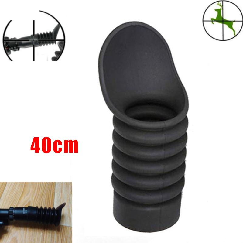 1PC Black 39mm Soft Rubber Cover Eye Protective for Telescope Sight High Quality