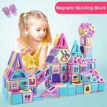 Magnetic Building Block Magnetic Designer Construction Set Macaron Color Educational Toys For Kids Gift стоимость