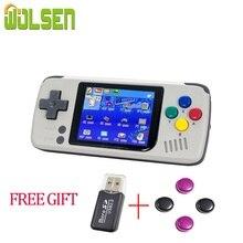 Wolsen المحمولة لعبة فيديو وحدة التحكم 2.4 بوصة التقدم حفظ مايكرو بطاقة مضاهاة يده لعبة لاعب بنيت في 1000 الألعاب أكثر