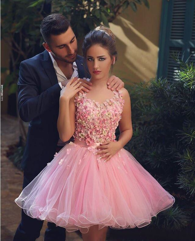Popular Baby Pink Homecoming Dress-Buy Cheap Baby Pink Homecoming ...