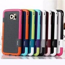 Новая Мода Три цвета стиль Резина Силиконовый Чехол Чехол для iPhone 4 5 6 S Plus для Samsung Galaxy S4 5 6 edge Плюс