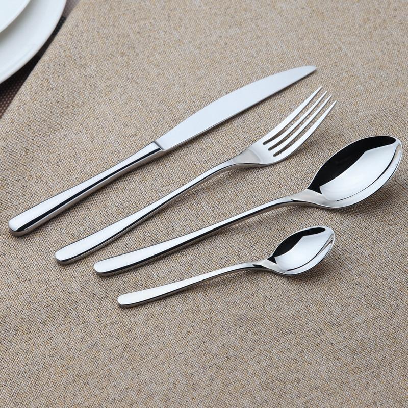 Set peralatan makan zon selesa zon tahan karat keluli tahan karat set - Dapur, makan dan bar - Foto 5