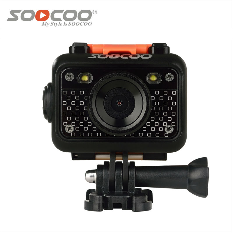 Soocoo s60 WIFI sport  action camera full HD1080p 12MP Sport DV 60m waterproof 170 angles with remote control action camera attention mini waterproof action camera dv 126 170d viewing angle full hd 1080p wifi remote control fantastic sport camera