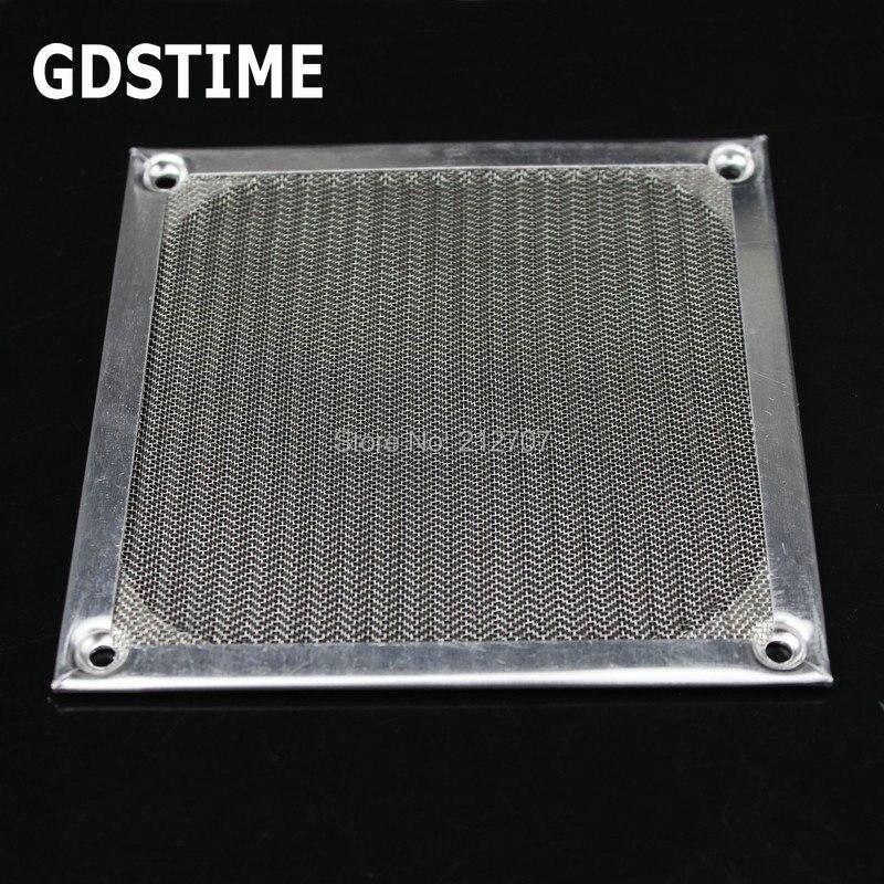 5pcs Black 120mm 12cm Aluminum Dust Filter Mesh Dustproof Strainer For AC DC Fan