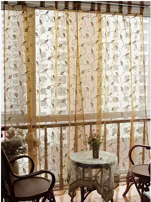 Popular Tab Top Curtains-Buy Cheap Tab Top Curtains lots from ...