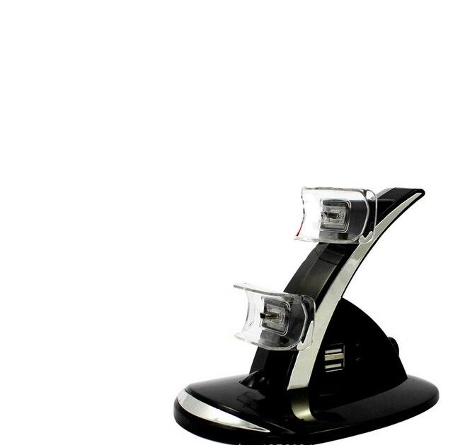 Led Зарядное Двойной Контроллер для Док-Станции Стенд Зарядное устройство Для Playstation 3 PS3 двойной контроллер зарядки для док-станции
