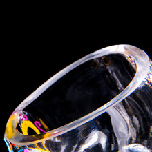70ml Colorful Skull Head Glass