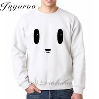 Ingoroo Kawaii Panda Face Print Cardigan Men S Hoodies Cotton Casual Hoodies Hood By Air Europe
