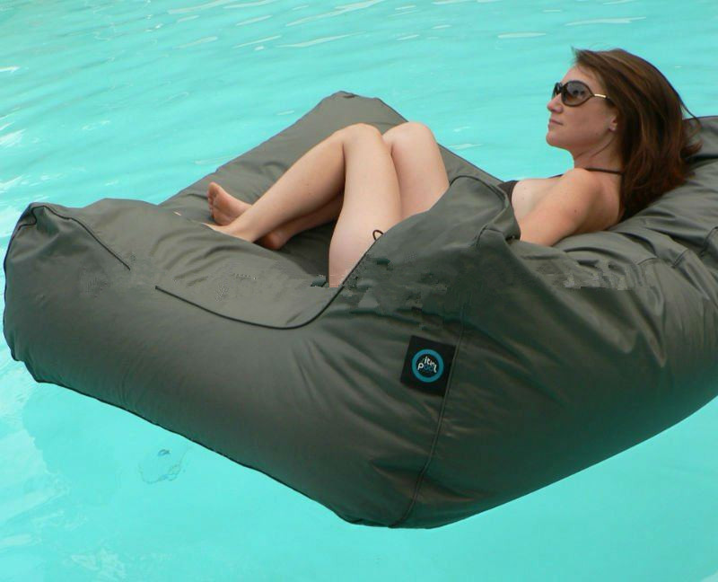 ФОТО Free Shipping Cost Extra Large Floating Beanbag Summer Swimming Beanbag YWXUEGE