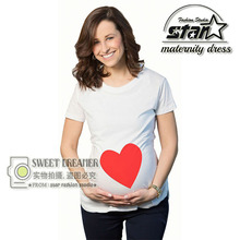 Pregnant Maternity T Shirts Shorts Casual Pregnancy Clothes For Pregnant Women Clothing Cotton Vestidos Summer 2016 Mom Wear