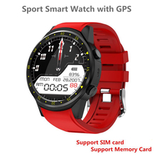 Sports Fitness Smart Watch F1 Message Reminder, Heart Rate Blood Pressure Sleep Detector, GPS, Camera, SIM Card Electronic Watch