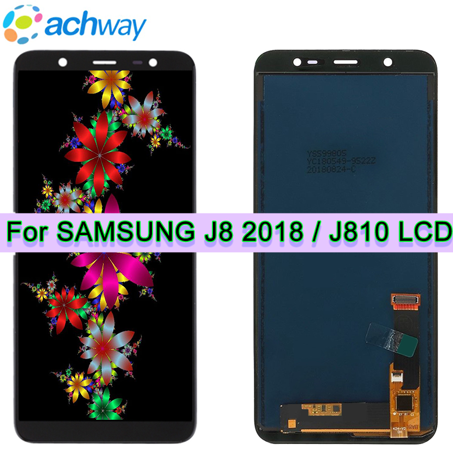 6.0 New TFT For Samsung J810 Galaxy J8 2018 J800 J800FDS LCD Display Touch Screen Digitizer Assembly for Samsung J8 LCD Display6.0 New TFT For Samsung J810 Galaxy J8 2018 J800 J800FDS LCD Display Touch Screen Digitizer Assembly for Samsung J8 LCD Display
