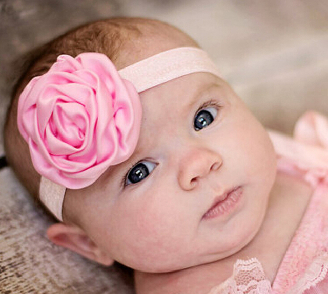 Ebay Hot Sale Kids Headwear Accessories Wholesale Newborn Baby Headbands  China Post Free Shipping Flower Infants daf8c696ab8