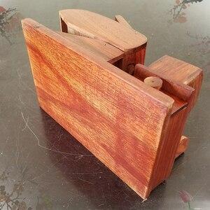 Image 5 - 자동 담배 상자 자동 담배 롤링 기계 수제 로즈 우드 장식 상자 자동 흡연 액세서리