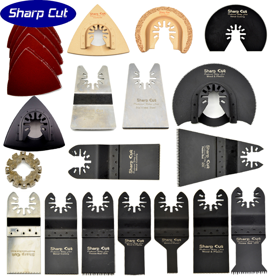 35% OFF 42 PCS Kits Oscillating multi Tool Saw Blades Accessories fit for Multimaster power tools Hacksaw Saw Wood Band Saw 10pcs jig saw blades reciprocating saw multi cutting for wood metal reciprocating saw power tools accessories rct