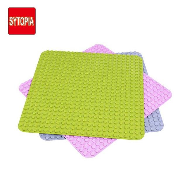 Blocos Placas Pontos Baseplate Tamanho Grande Placa de Base de Plástico ABS Peças Suave Proteger as Mãos Das Crianças Presente Para Crianças Kid