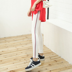 2017 spring leggings women side stripe high elastic cotton soft stretch female slim font b leggins.jpg 250x250