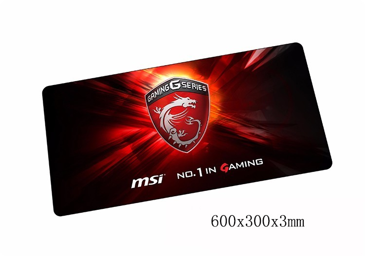 MSI mouse pads 600x300x3mm pad to mouse notbook computer mousepad HD pattern gaming mous ...
