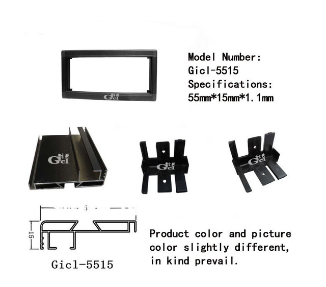Gicl 5515 P10 מקורה LED מציג מודול אלומיניום מסגרת