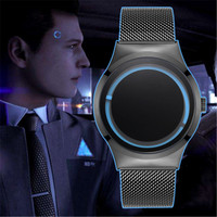 New Game Detroit: Become Human Cosplay Watch Connor Marcus Animation Cosplay Props Luminous Watch Accessories Gifts Waterproof