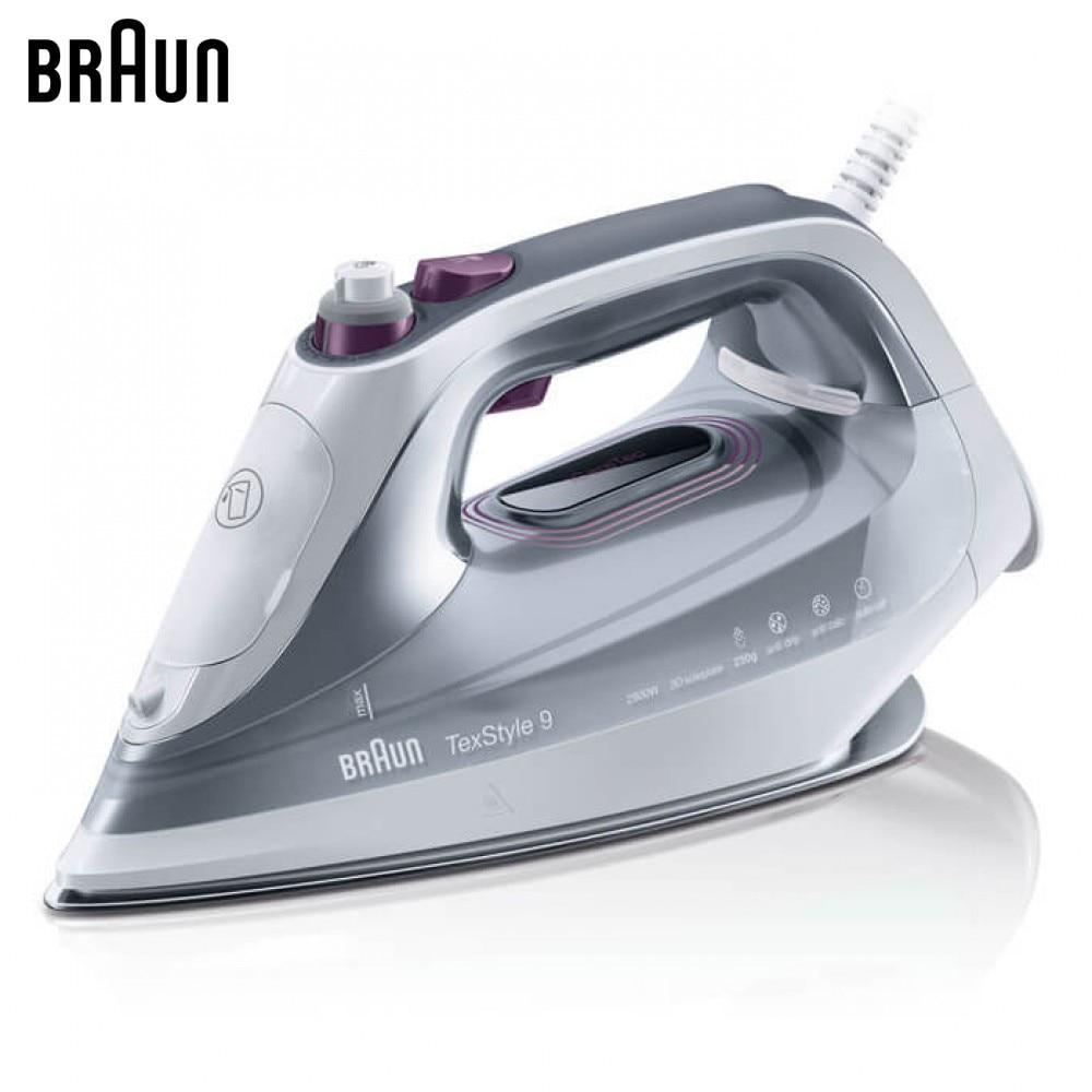 Electric Irons BRAUN SI9187WH steam iron steamer Laundry Appliances generator все цены