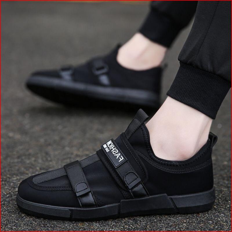 Mocasines Zapatos Zapatillas Casual Moda On Rojo Diseñador 1 Cómodo Hombre 2 4 Hombres Transpirable Slip Mens Negro 3 1YqSw4x