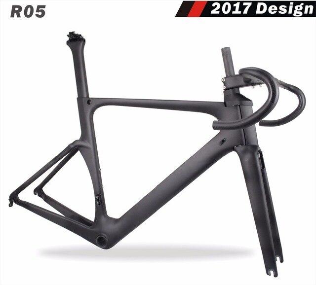 2018 Miracle New Design Carbon Aero Bicycle Frame 49cm,52cm,54cm,56cm,59cm BB86 UD matte