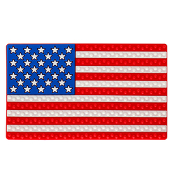 26*15.5cm Anti Slip Mat Car Sticky for Phone GPS Coin Key Holder Non-Slip Pad China UK US Germany Flag Auto Interior Accessories