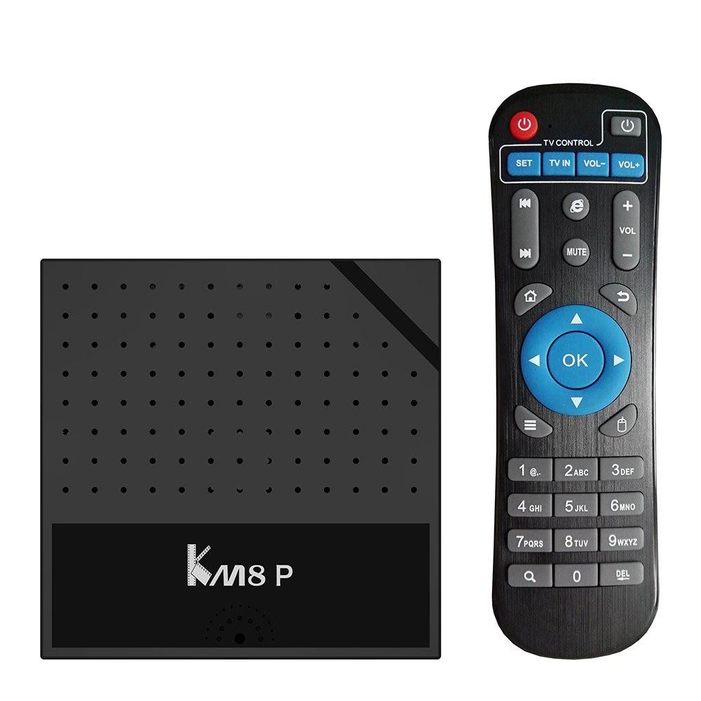Android 7.1 Nougat Mecool KM8 P Smart TV Box 2GB 16GB Amlogic S912 Octa Core H.265 4K WiFi HD1M IPTV KM8P Media Player 10PCS