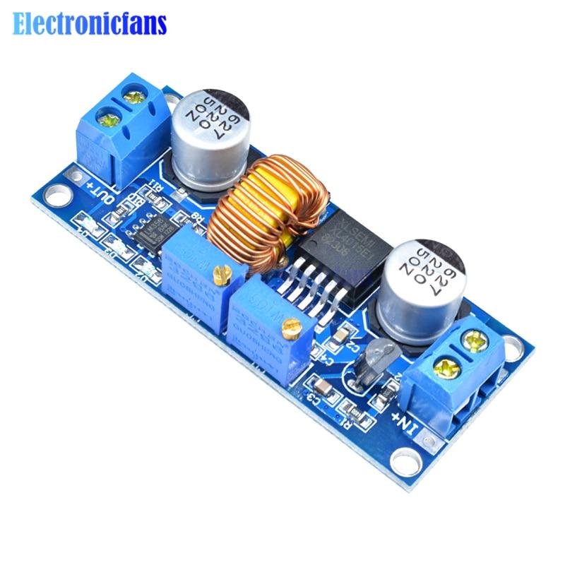 5Pcs 5A Lithium Charger Cv Cc Buck Step Down Power Supply Module Led Driver I cz