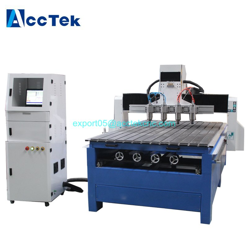 Gear Transmission Double Tables Multi Rotary Cnc Machine Tool