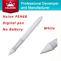 New Huion PEN68 Graphic Tablets Pen Wireless Digital Pen Screen Touch Stylus White