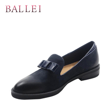 Classic Woman Quality Flat Luxury Black Genuine Leather Retro Round Toe Soft Low Heel Shoe Casual Slip-on Fashion Flats 1 2017 woman black gray genuine leather flats shoes casual retro round toe handmade slip on solid round toe chinese embroidered