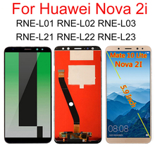 5.9 inch For Huawei Nova 2i LCD Display Touch Screen Digitizer For Huawei Nova 2i LCD RNE L01 L02 L03 L21 L22 L23 Replacement стоимость