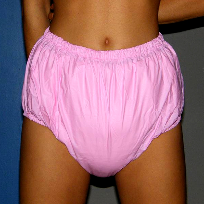 Free Shipping FUUBUU2033-PINK-M ABDL Adult Diaper/ Incontinence Pants/Adult Baby/the Urine Absorption