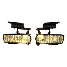 Пара вождения лампы Противотуманные фары прозрачные линзы бампер для Chevrolet Chevy Silverado 1999-2002