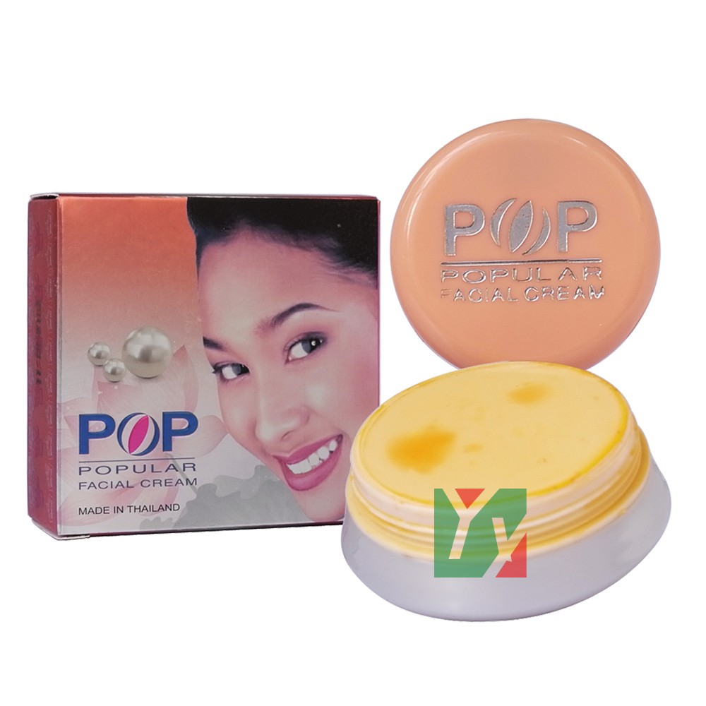 POP Pearl Whitening & Removal Spots Facial Cream 4g Concealer Skin Care Whitening Skin In 7 Days