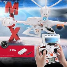 MJX envío libre X400 6-Axis Drone RC 2.4G 4CH RC Helicóptero de Control Remoto RTF Quadcopter Con C4005 HD Cámara FPV