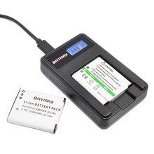 2 pcs 1200 mah li-50b li50b bateria & carregador de lcd para olympus mju stylus 1010 1020 1030sw 9000 sh21sh25 sp720uz sp800uz sp810uz sz10