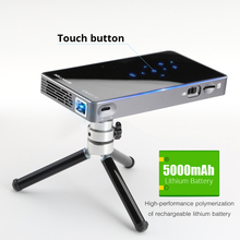 BYINTEK Mini LED DLP Projector with Battery