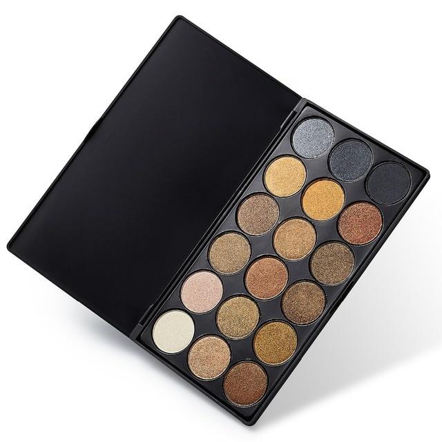 18 Colors Eye Shadow Makeup Glitter Shimmer Smokey Eyeshadow Palette Pigment Cosmetic Makeup Set Nude Eye Shadow