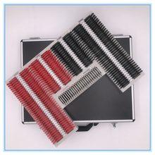 Teste lente conjunto 232 pçs lente caixa de prova aro plástico uma classe qualidade SL-232 caso de alumínio