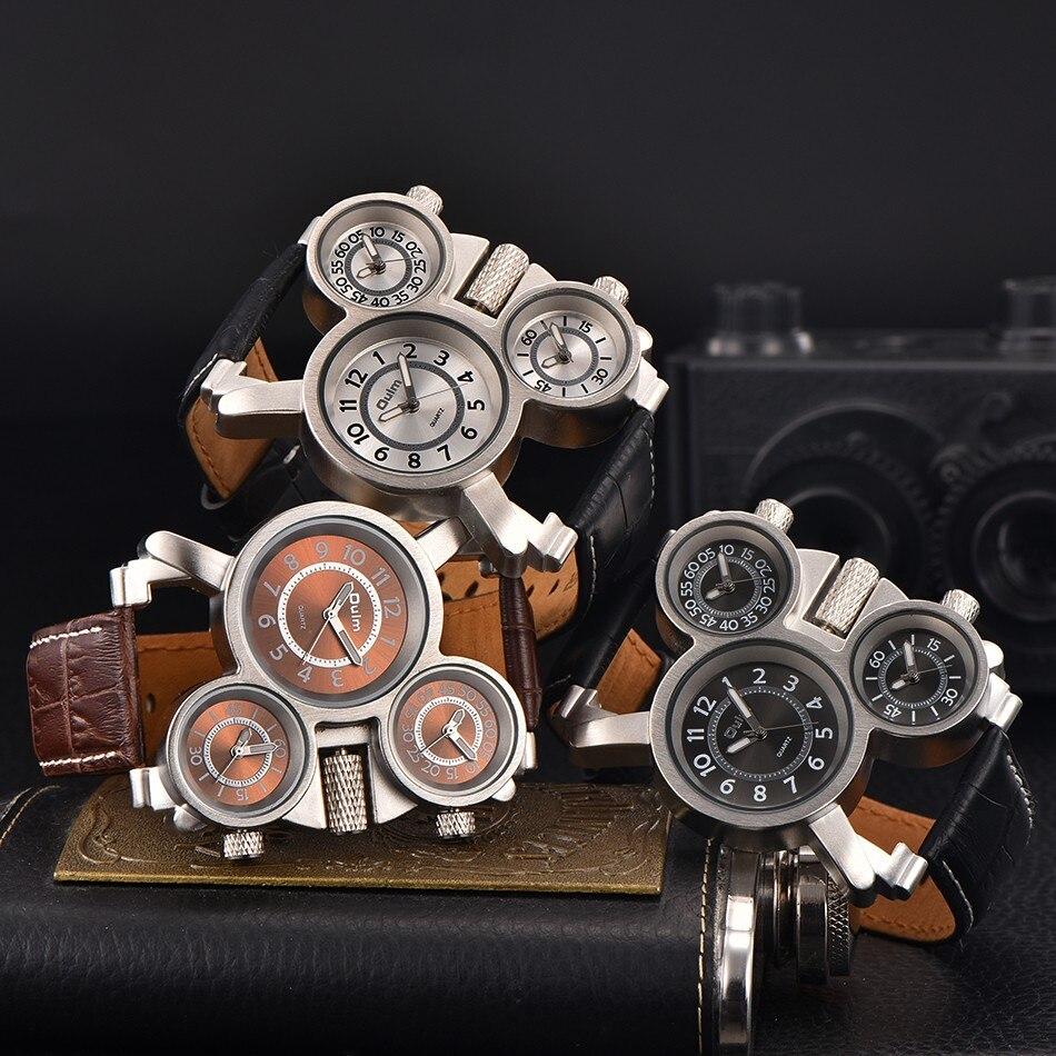 Ρολόγια για άνδρες Oulm Κορυφαία μάρκα - Ανδρικά ρολόγια - Φωτογραφία 5