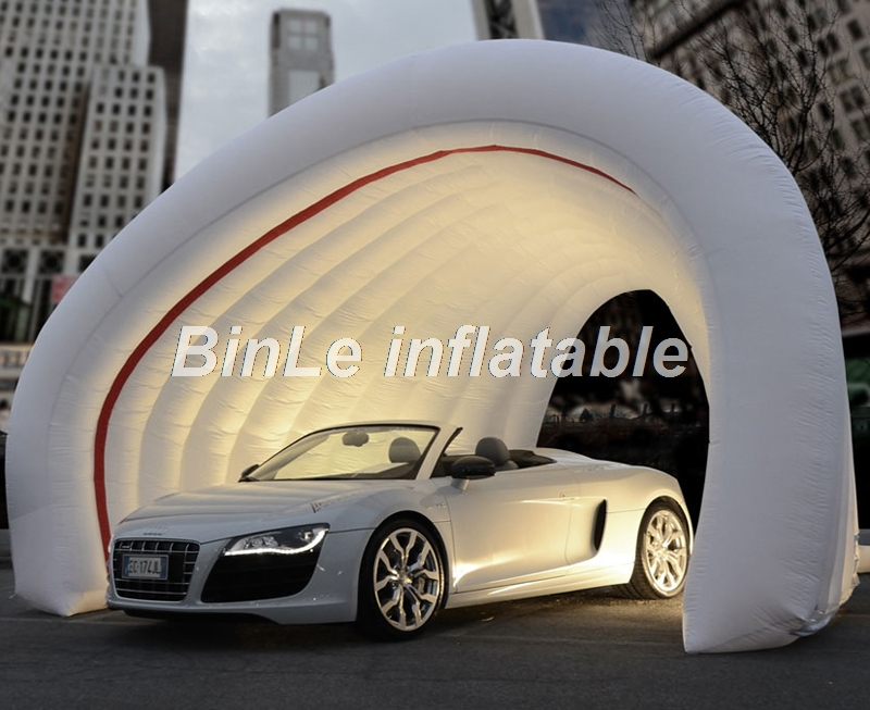 Commercial grade trade show display inflatable tent for exhibition dome inflatable car garage tent outdoor use free shipping inflatable garage tent inflatable building storage inflatable car exhibition display advertising tent
