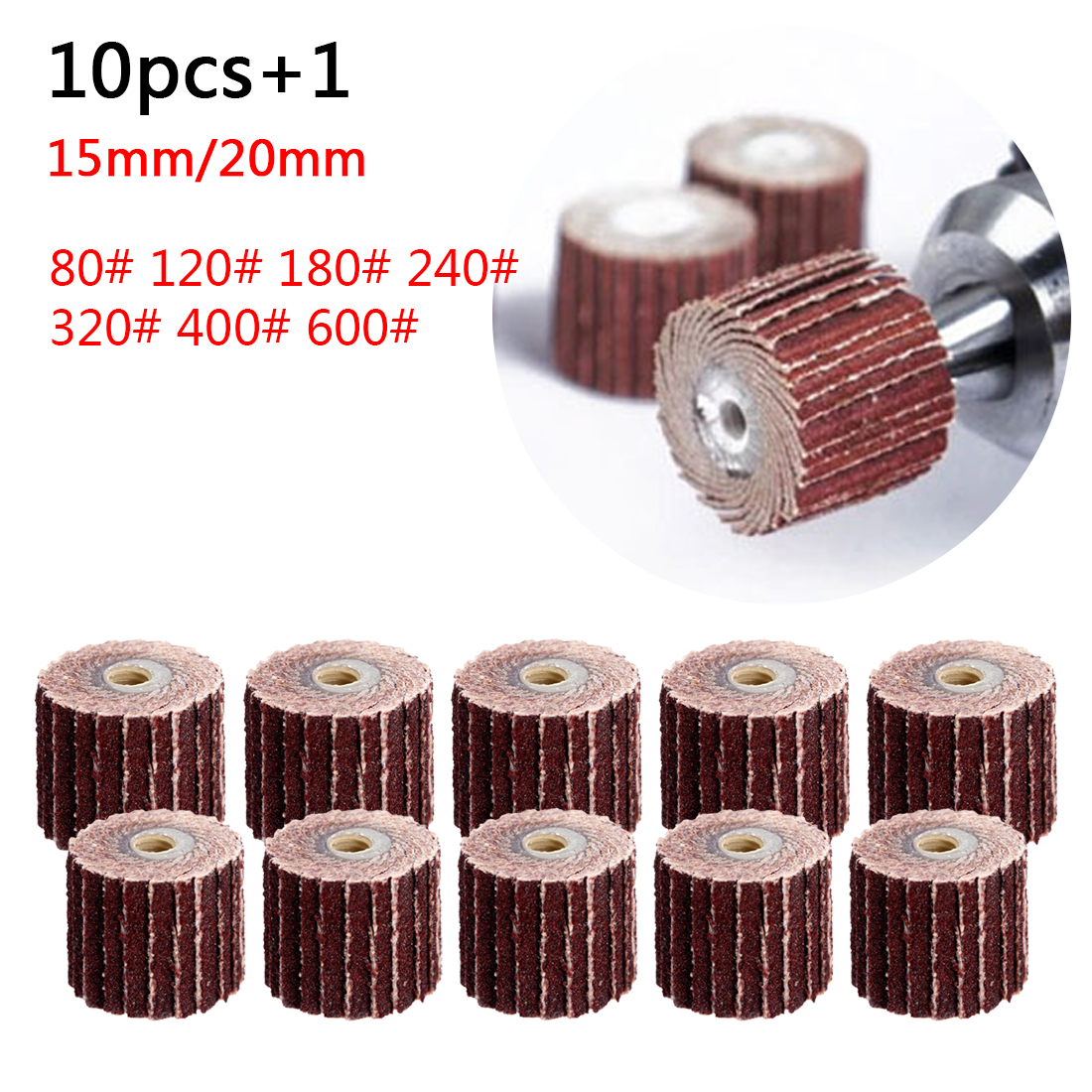 New 10pc Buffing Pad Brush Polishing Wheel Jewelry Metal Micro-Electronic Dremel For Rotary Tools Nylon Polishing Pads